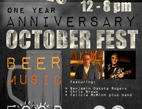1st Anniversary October Fest!